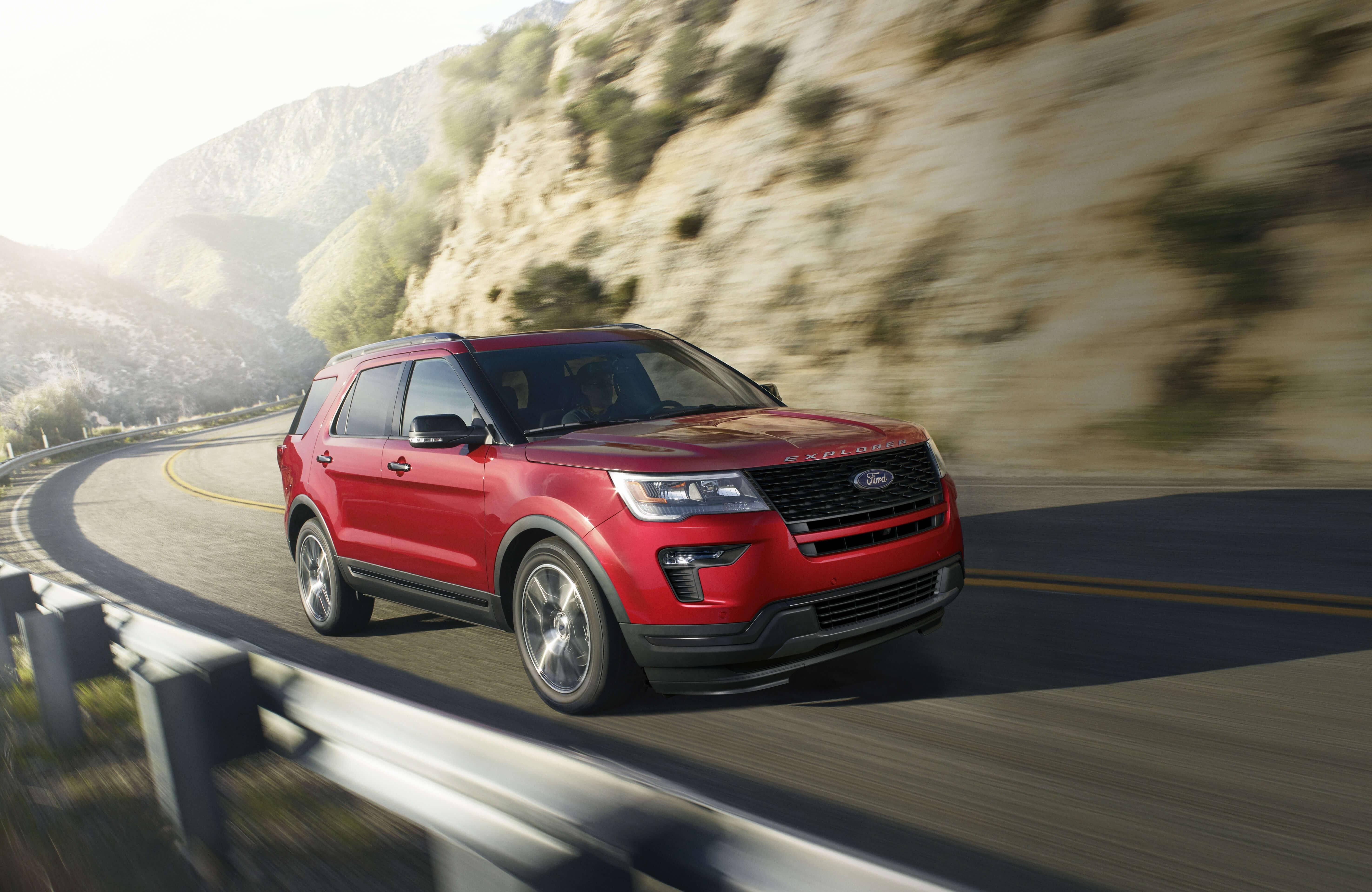 Ford Explorer Towing Capacity >> The All New 2019 Ford Explorer Towing Capacity