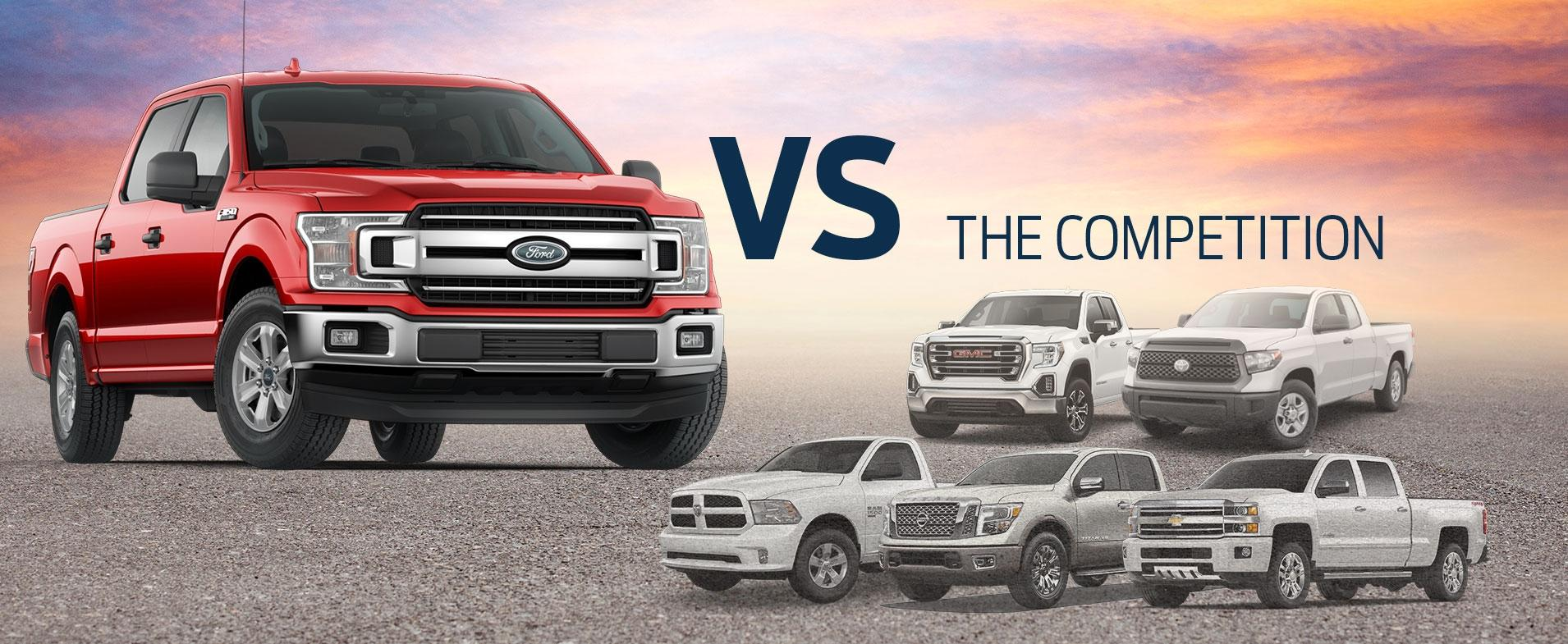 F-150 vs Competition