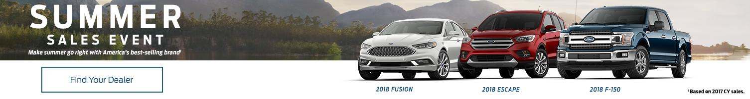 Ford Summer Sales Events