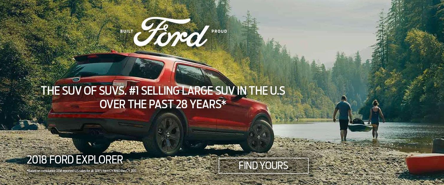 Find Your 2018 Explorer - Built Ford Proud