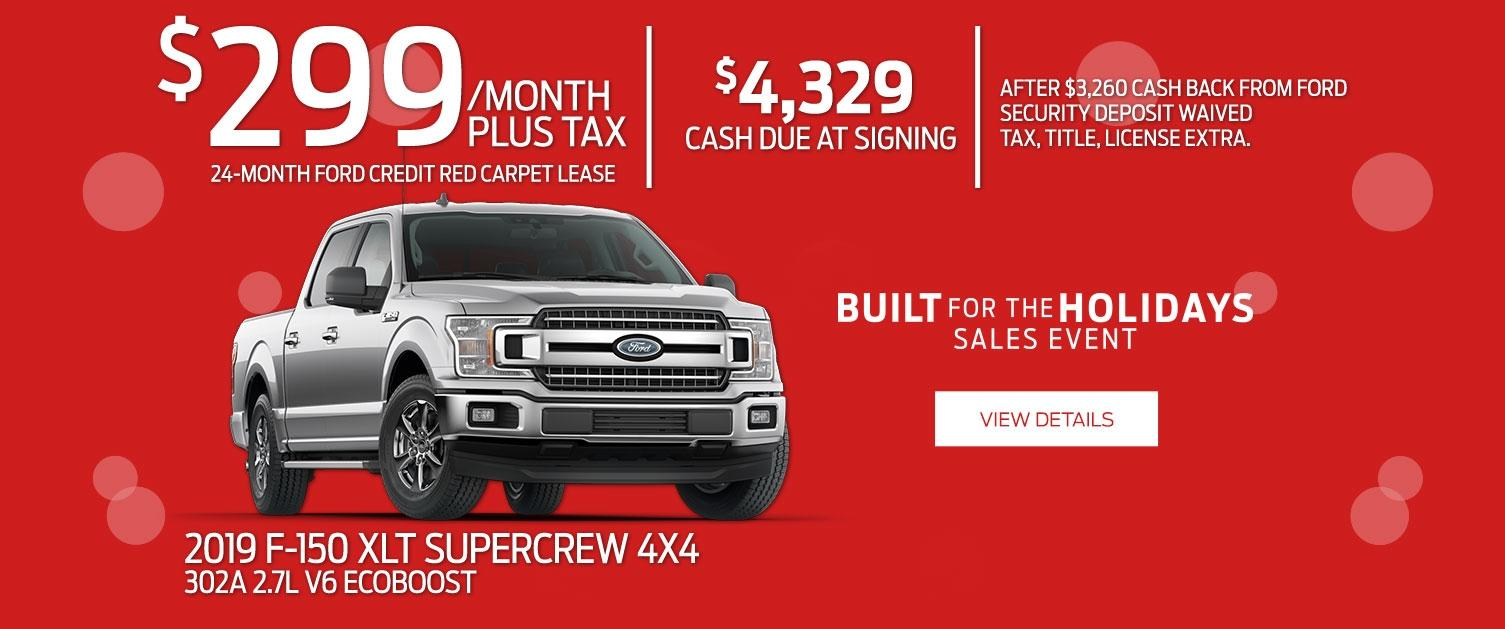 F-150 Lease Offer
