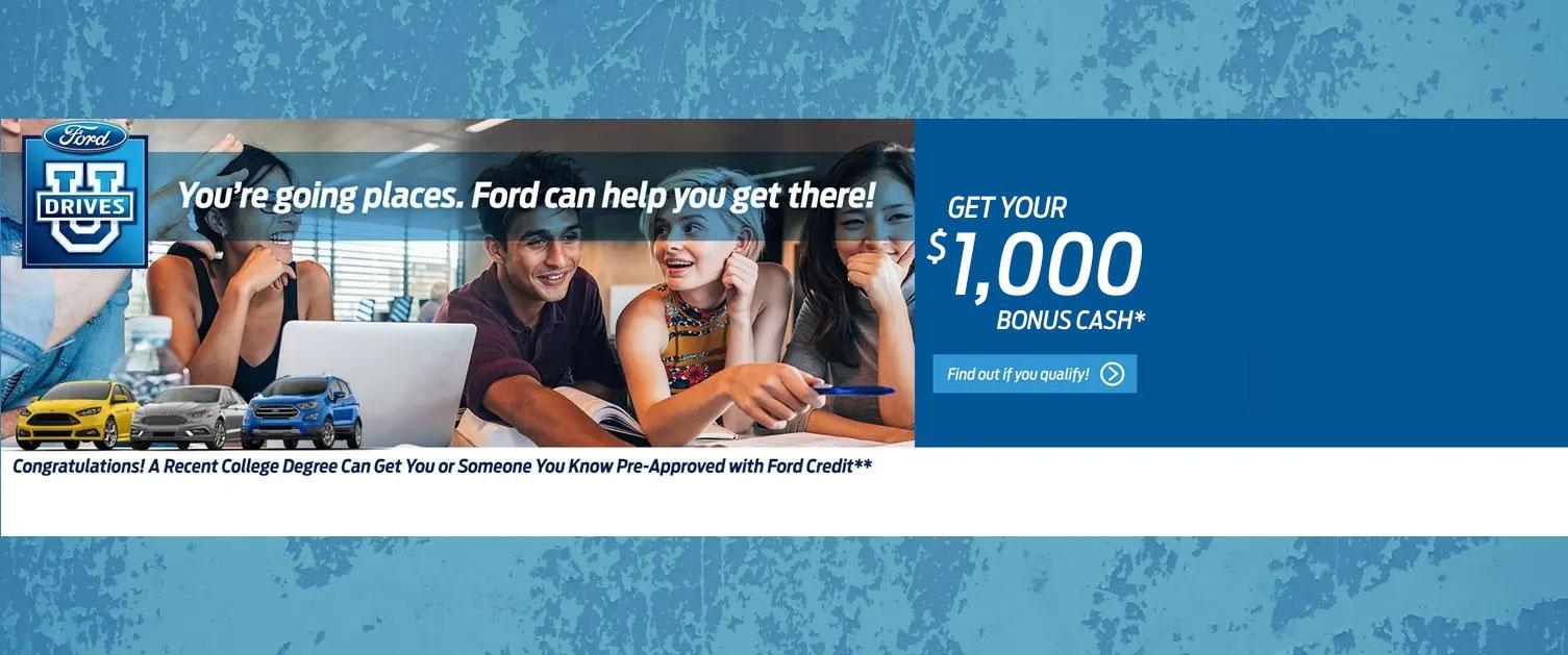 $500 College Grad Offer
