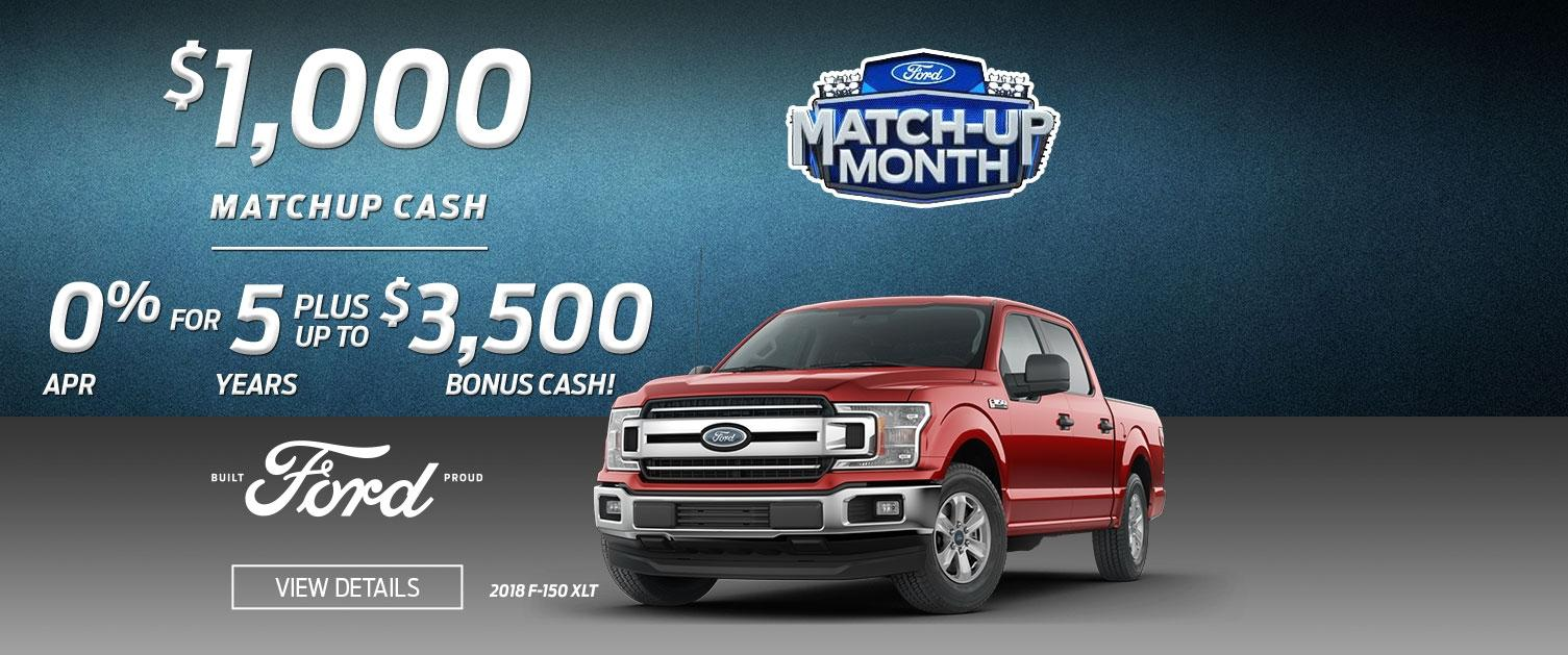 F-150 Matchup Month