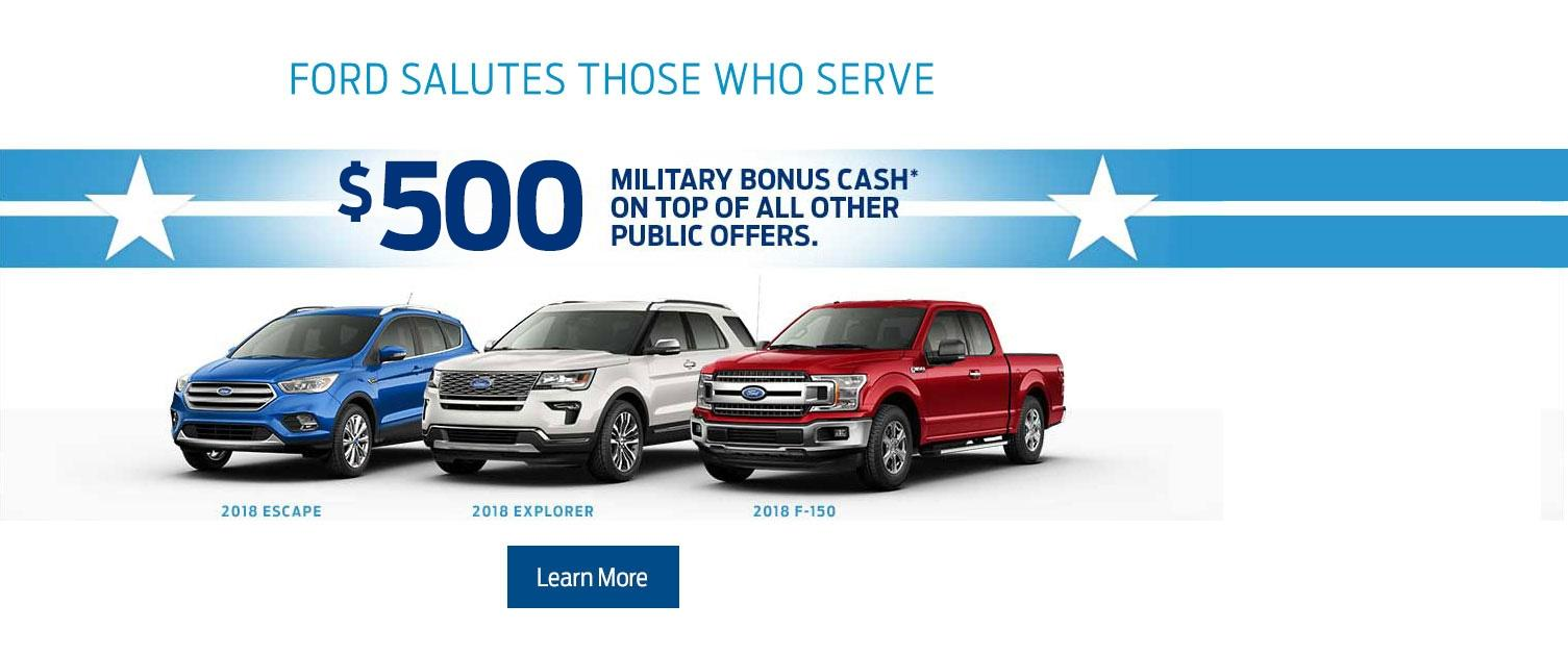 $500 Military Appreciation