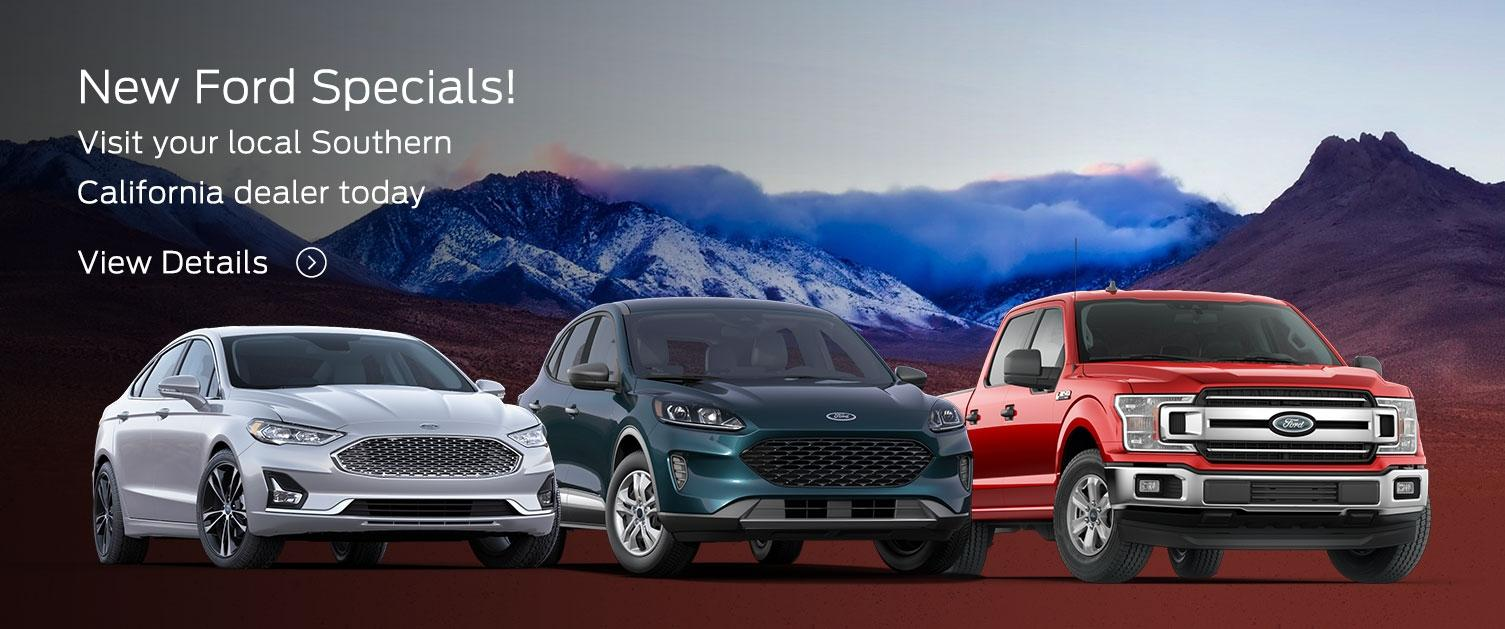 New Ford Specials