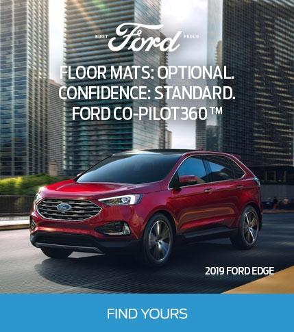 Find Your 2019 Edge - Built Ford Proud