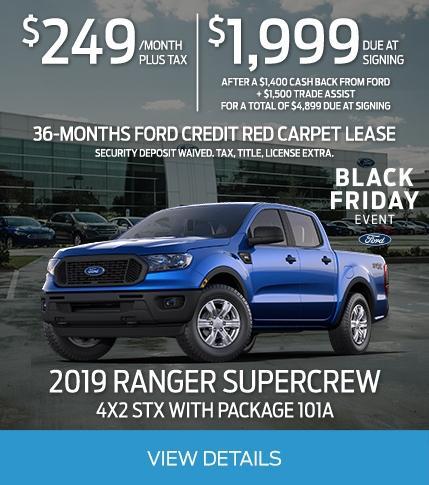 Ranger Lease Offer