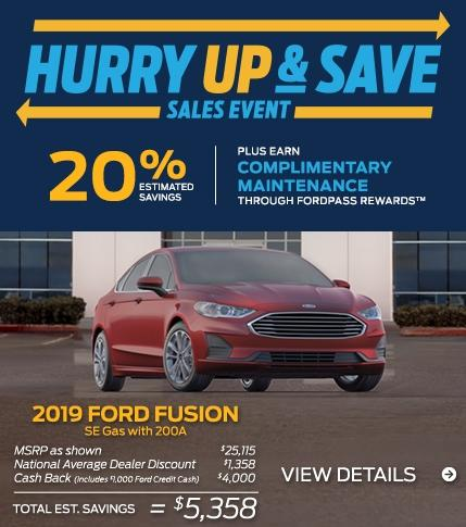 Fusion Hurry Up Save