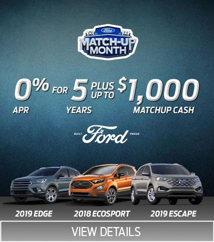 SUV Matchup Month