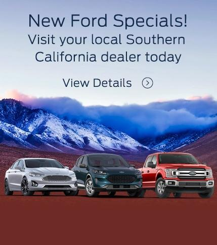 New Ford Specials!
