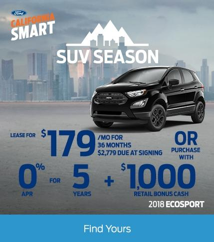 EcoSport Incentive