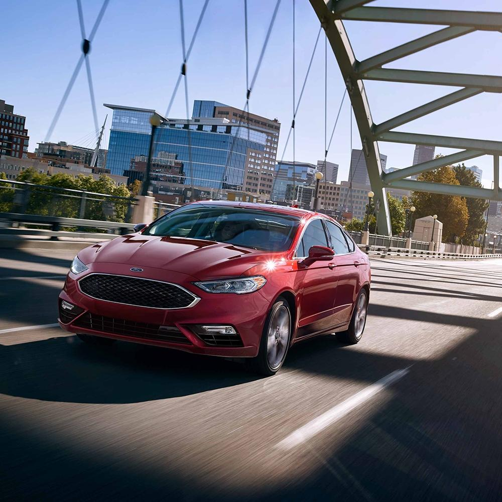 Compare The 2019 Ford Fusion To The Competition