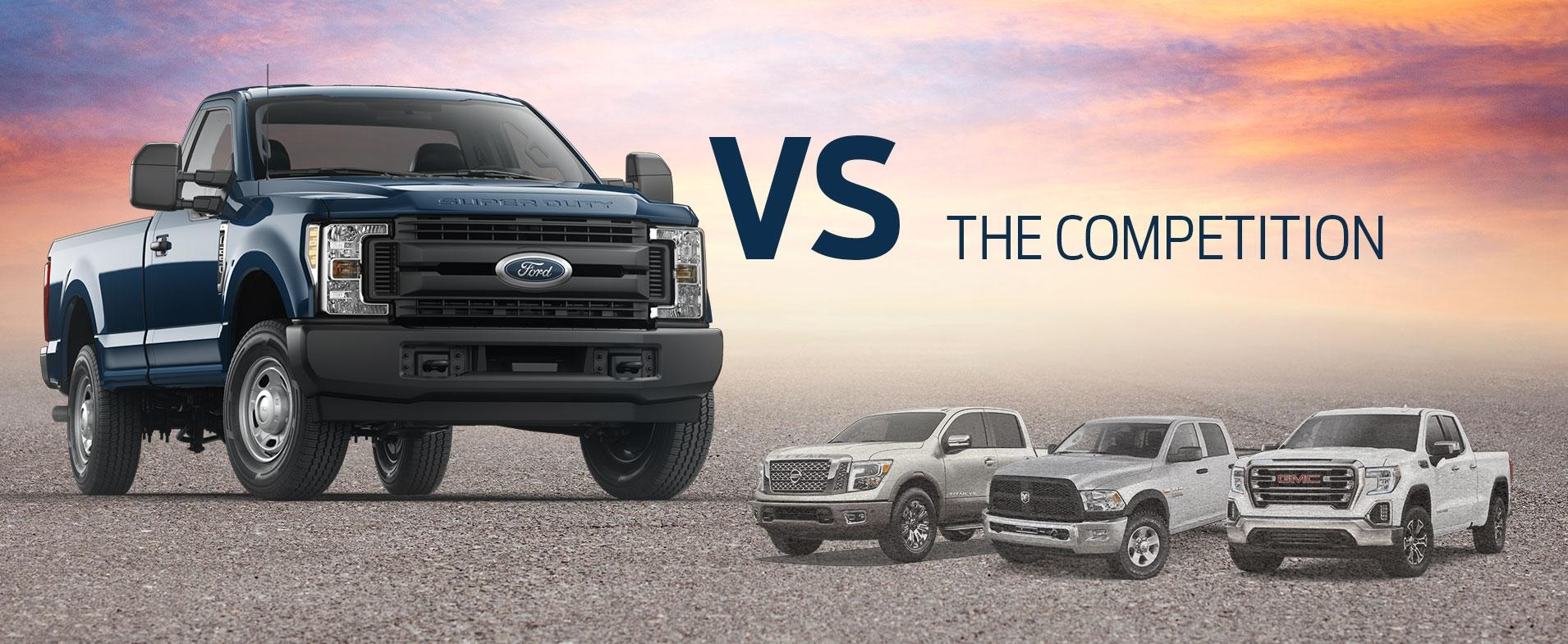 Super Duty vs Competition