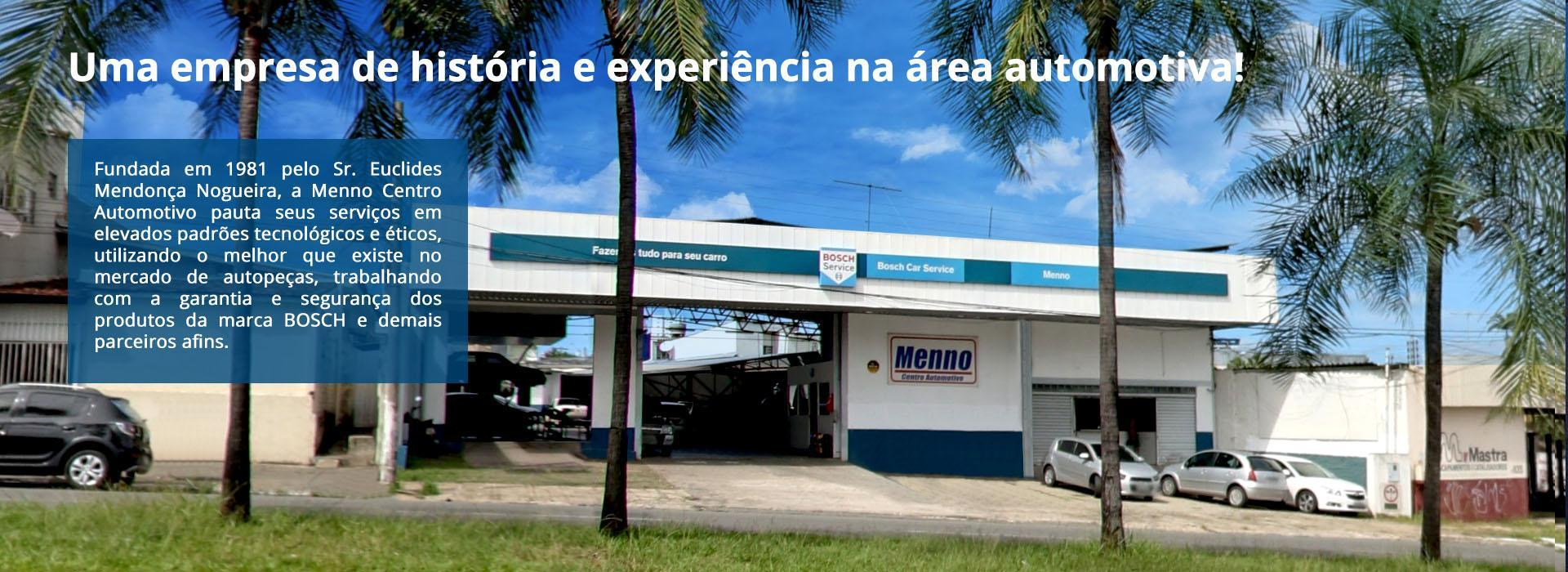 Uma empresa de história e experiência na área automotiva!