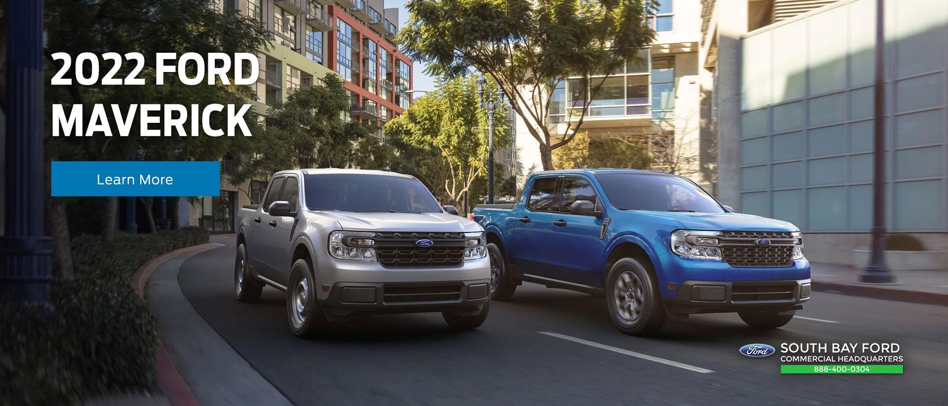 2022 Ford Maverick Truck | South Bay Ford Commercial