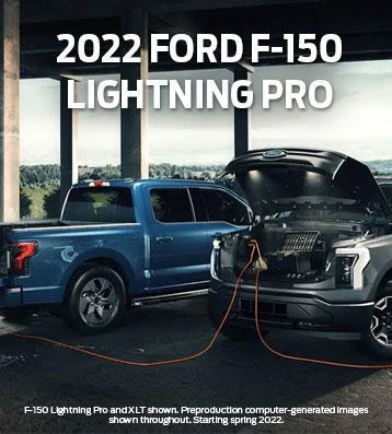 2022 Ford F-150 Lightning Pro | South Bay Ford Commercial