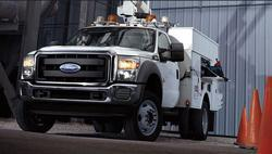 Ford Utility Truck Photo Gallery