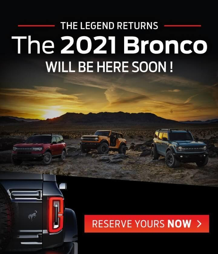 2021 Ford Bronco | Steele Ford Lincoln