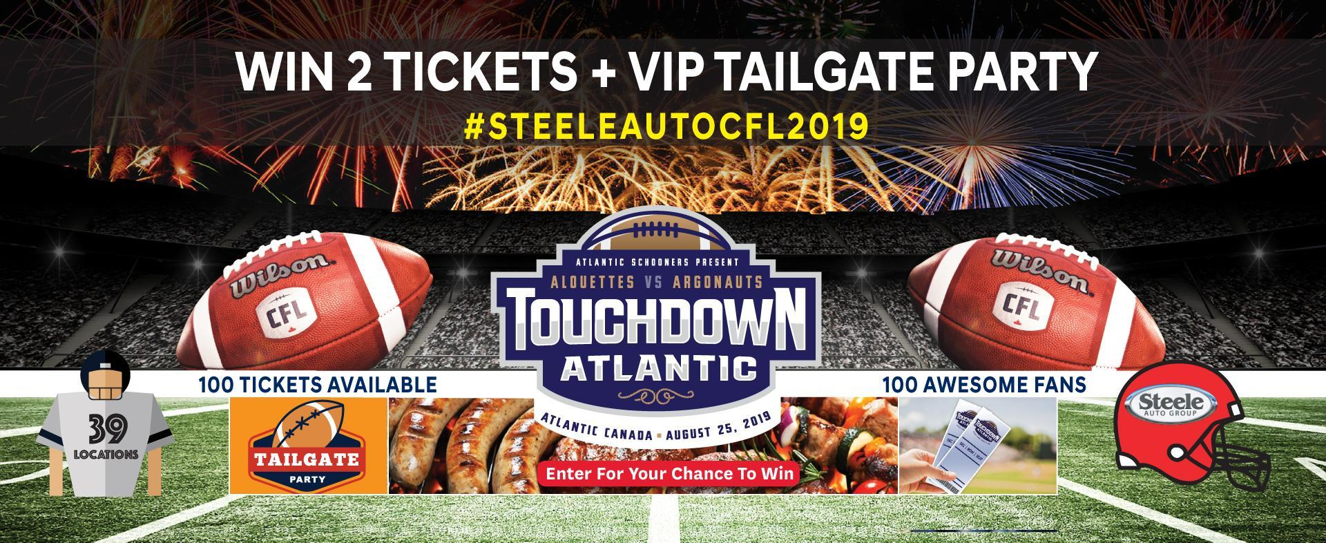 CFL Touchdown Atlantic Promo