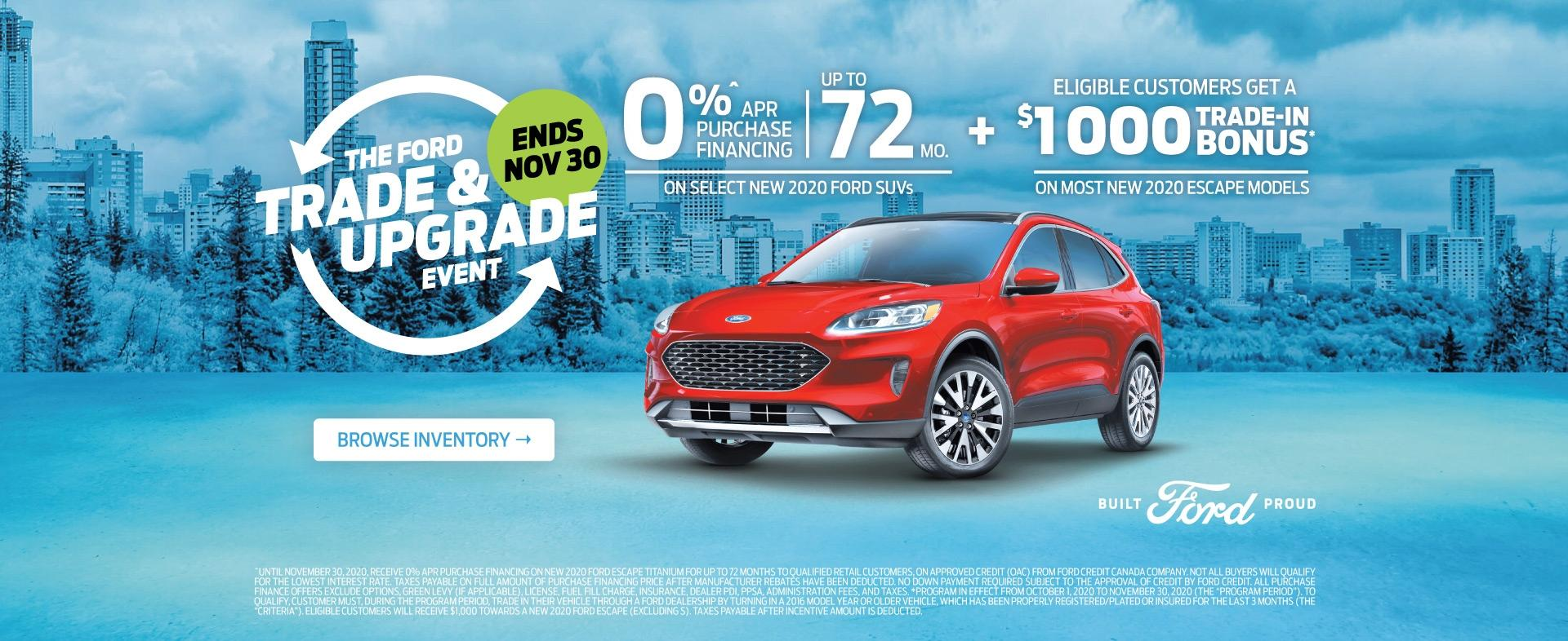 Escape Offer | FoC Trade Up Event | Steele Ford Lincoln