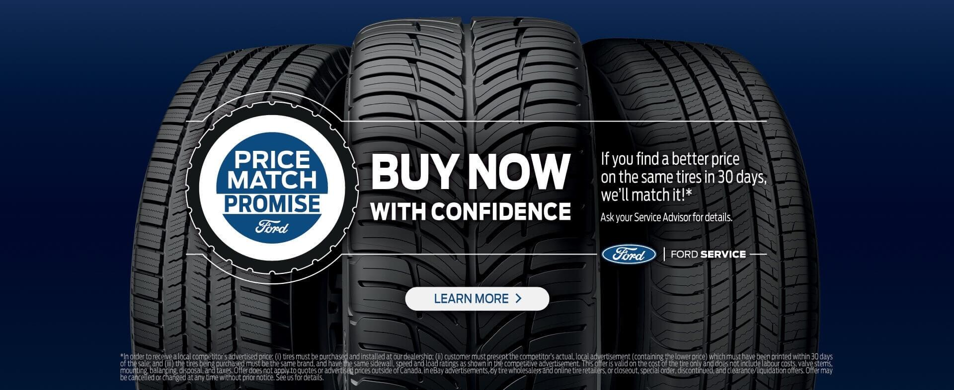 Price Match Promise | The Right Tires | Steele Ford Lincoln