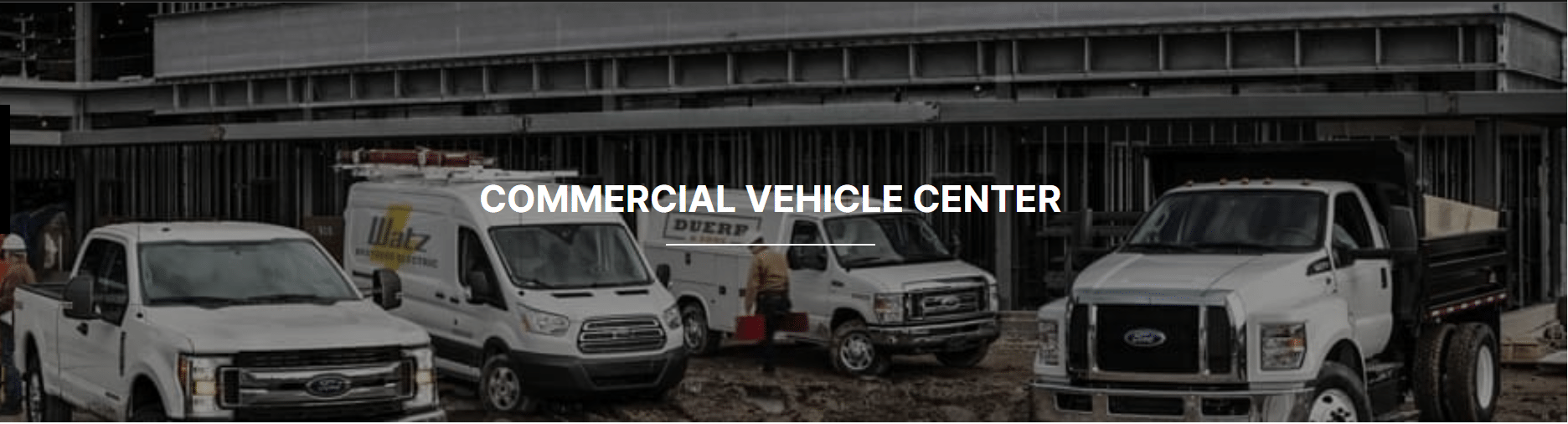 Commercial Vehicle Centre at Steele Ford Lincoln in Halifax, NS