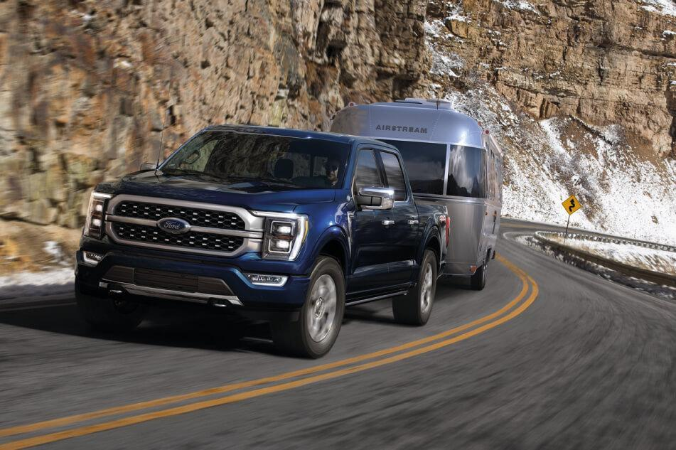 Ford & Lincoln Schedule a Test Drive 2021 F-150