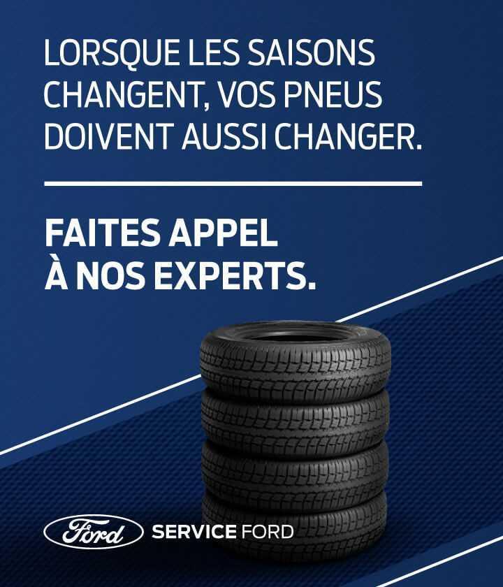 Centre du pneu Ford