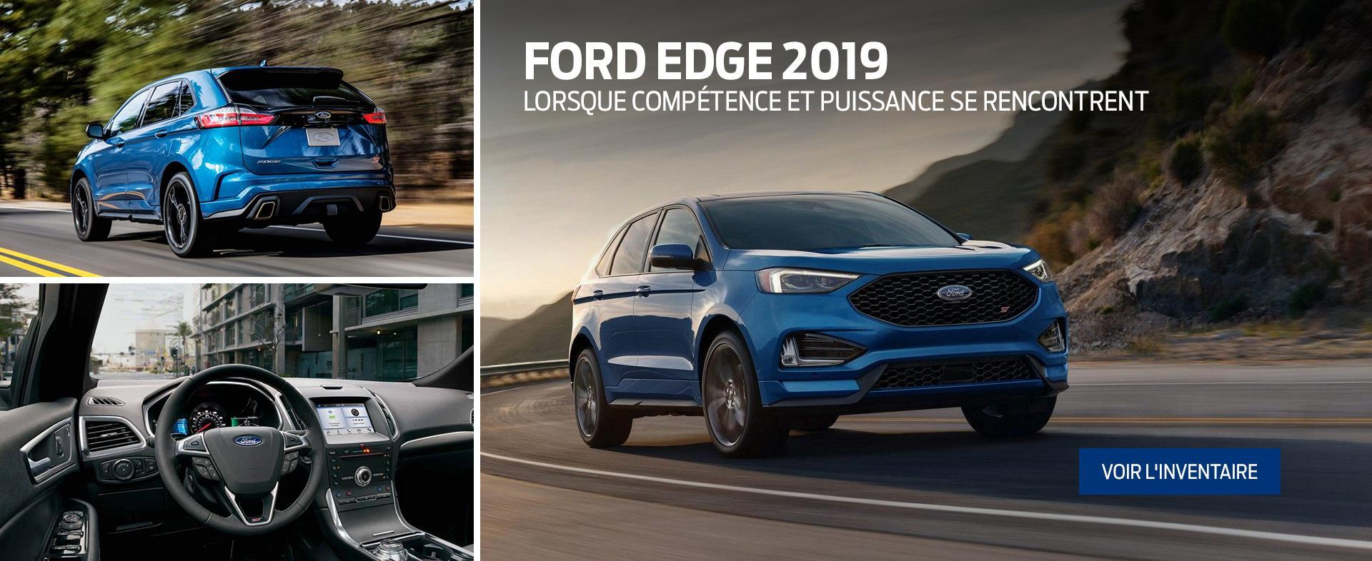 Ford & Lincoln Accueil 2019 Edge