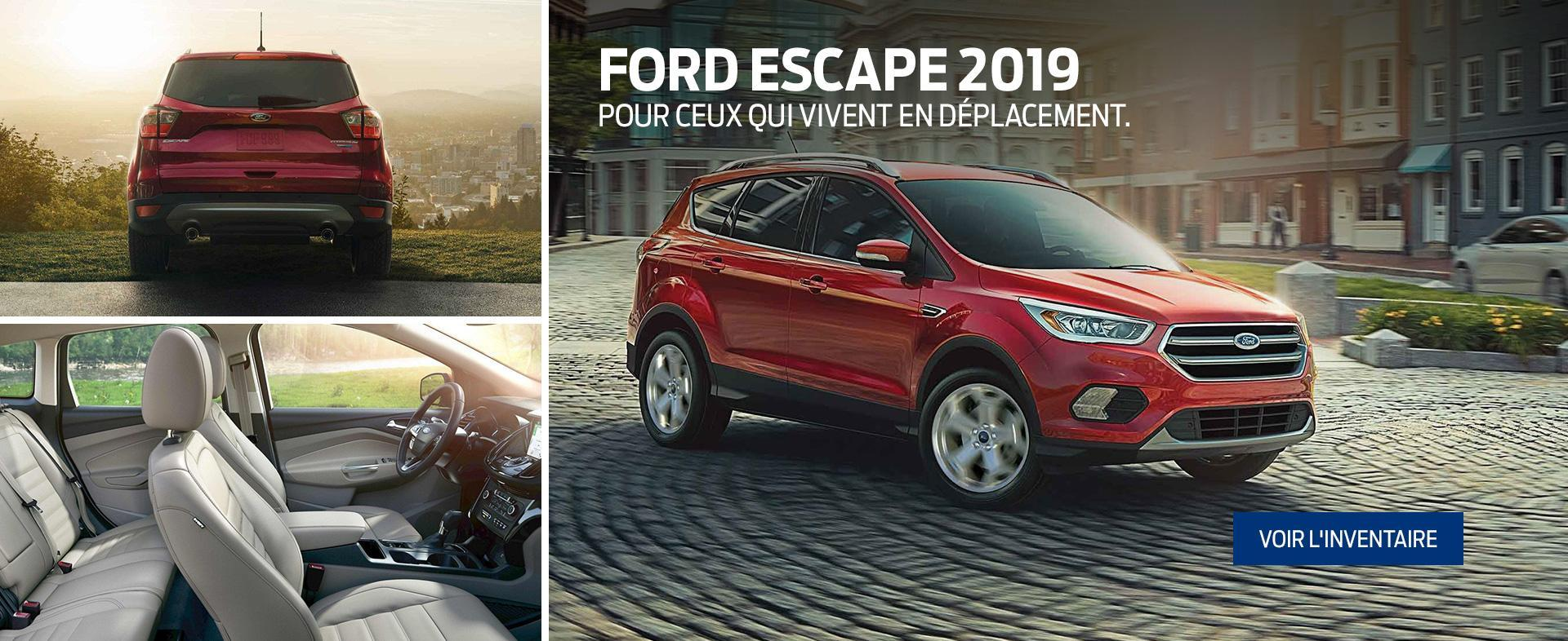 Ford & Lincoln Accueil 2019 Escape