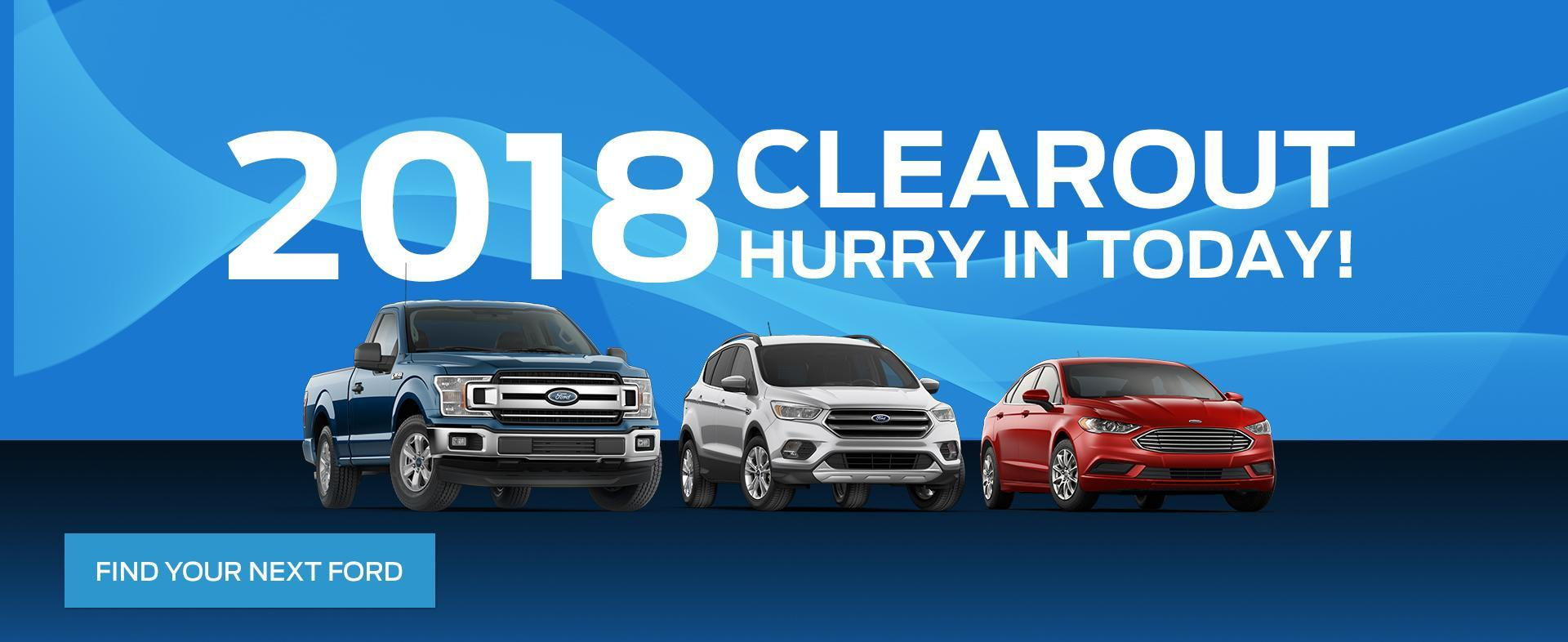 Ford Home 2018 Clearout image