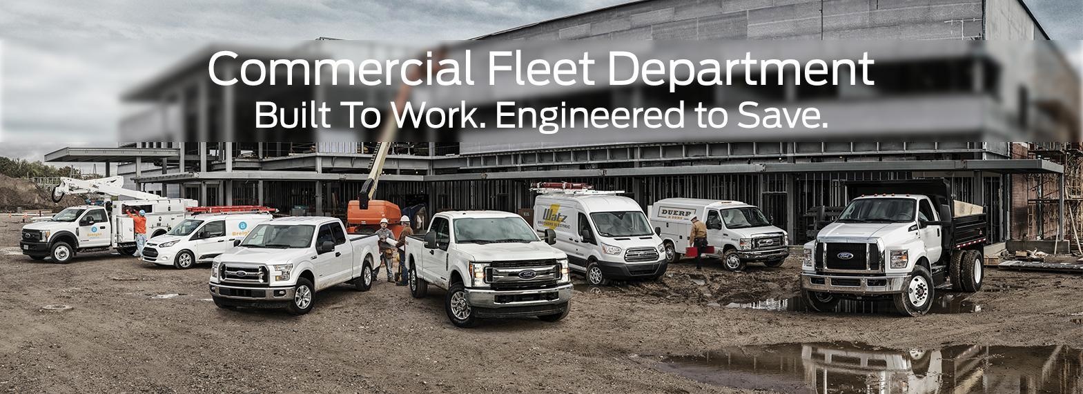Commercial Fleet Vehicles | Wayne Pitman Ford in Guelph