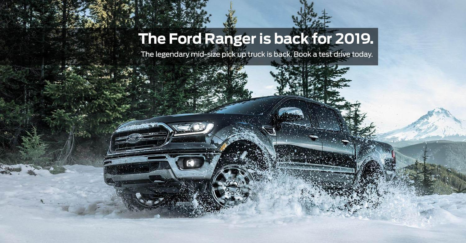 The 2019 Ford Ranger is back in Guelph