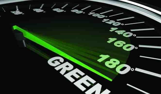 Green odometre