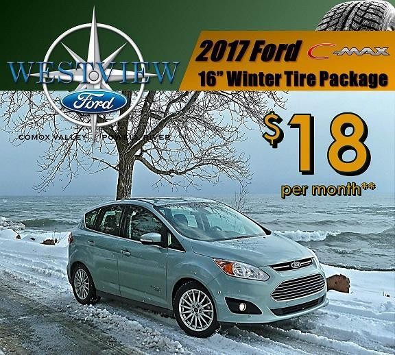 Ford C-Max Winter Safety Packages, Ford Comox, Ford Courtenay, Ford Powell River