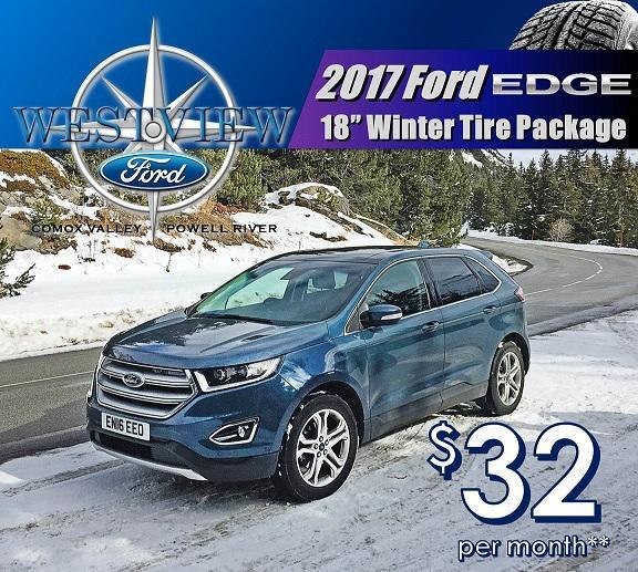 Ford Edge Winter Safety package