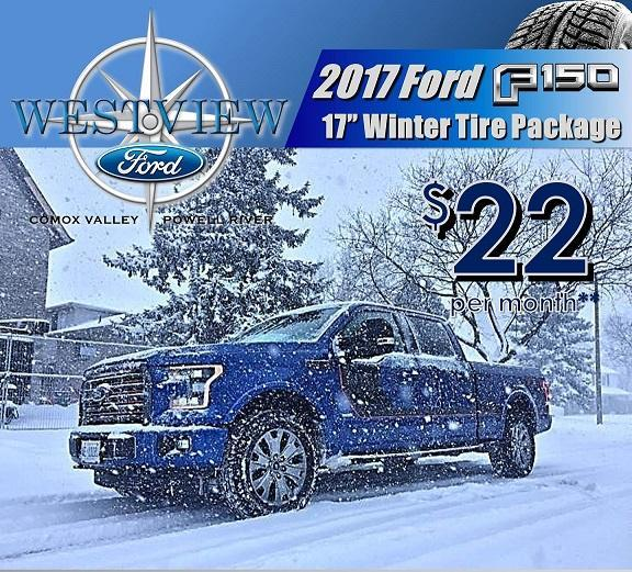 F-150 Winter Safety Packages for Ford Comox, Ford Courtenay, Ford Powell River