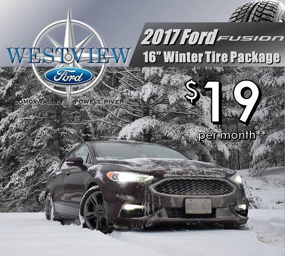 Ford Fusion Winter Safety packages Ford Comox, Ford powell river, Ford Courtenay