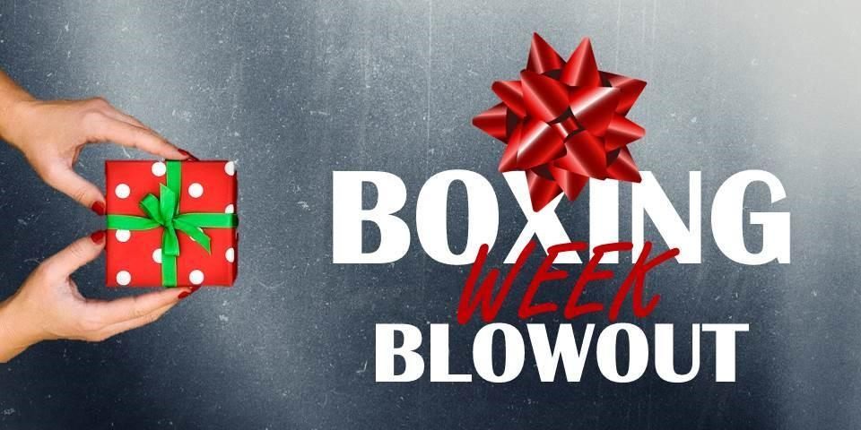Boxing Week Blowout Westview Ford