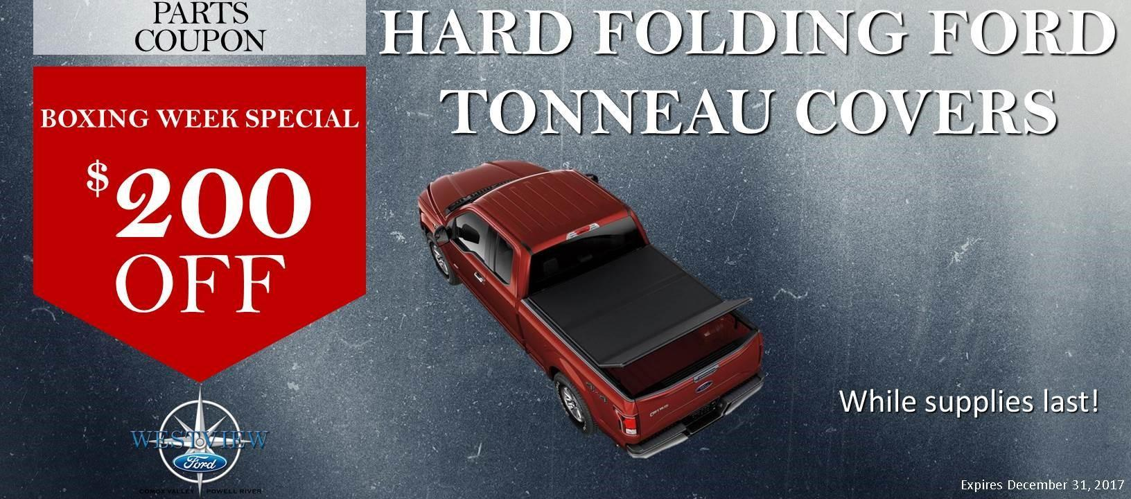 Tonneau Covers Boxing Week Special $200 Off