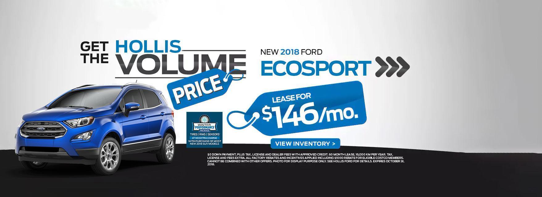 2018 Eco Sport Blue