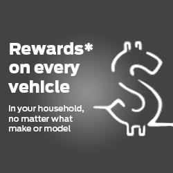 Rewards on Every Vehicle