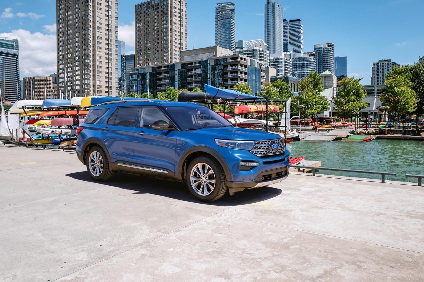 Ford & Lincoln 2020 Explorer image
