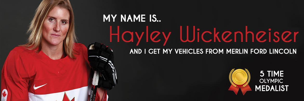 Ford & Lincoln Hayley Wickenheiser image