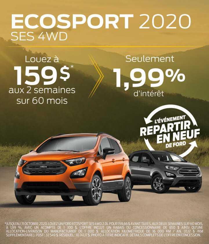 Ecosport 2020