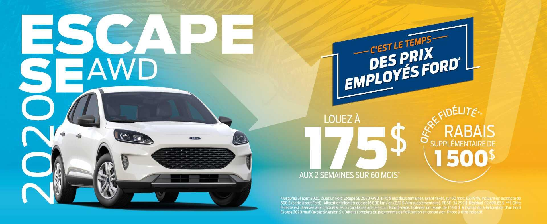 Escape 2020