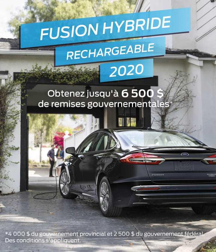 Fusion hybride rechargeable 2020