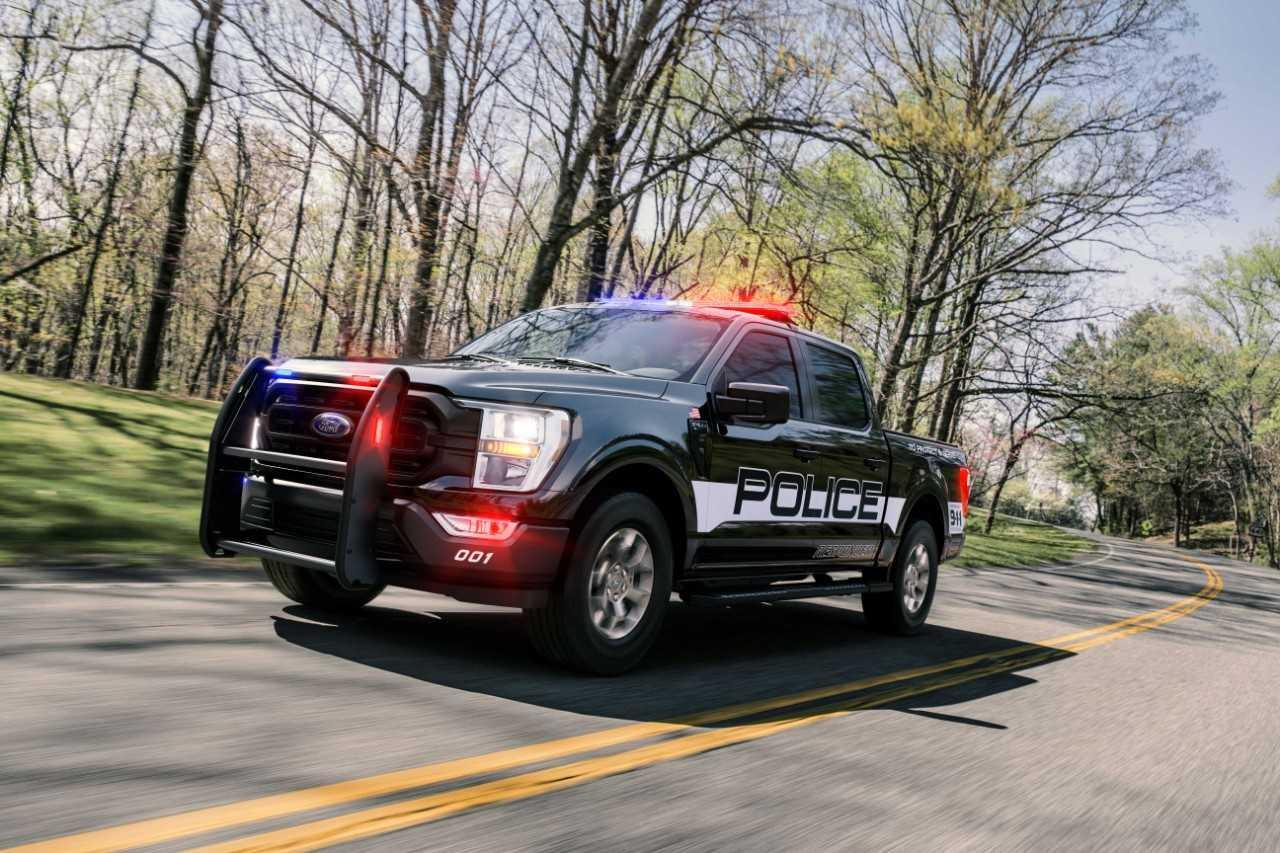 Attention bandits, le Ford F-150 Responder vous suit