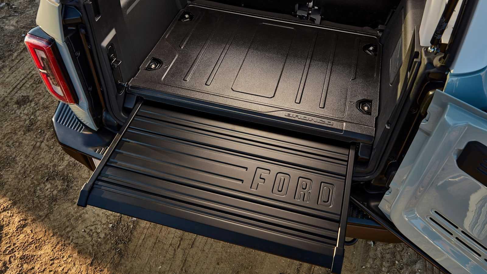 Les trucs cools du Ford Bronco 2021