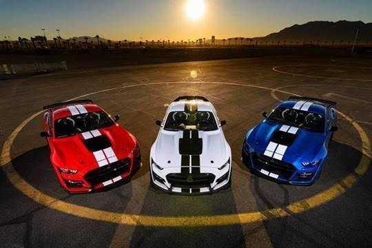 Ford Mustang la plus vendue